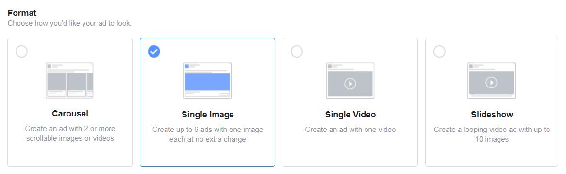 Facebook рекламни формати